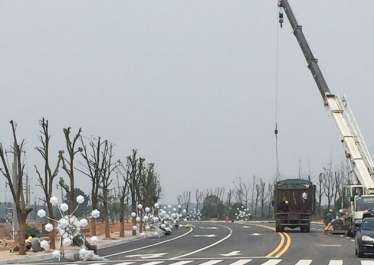 安义县燎河一江两岸景观亮化