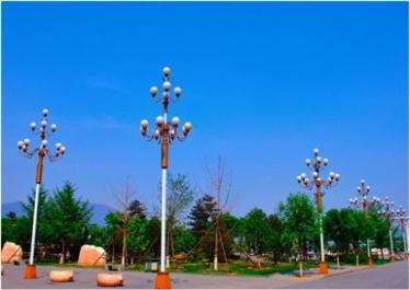 宜春太阳能路灯展示